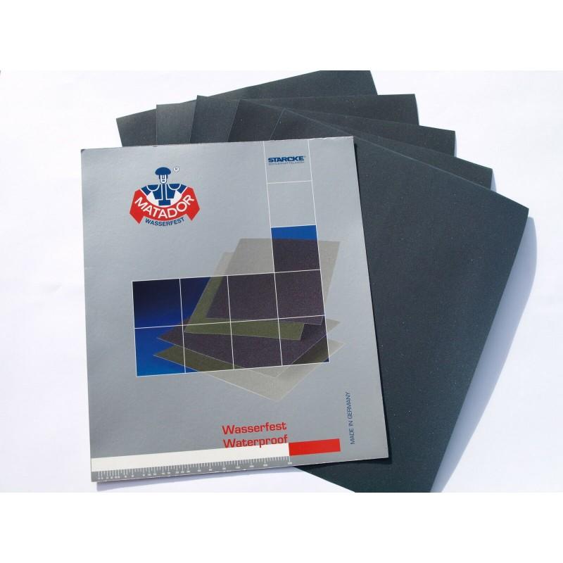 3 Sheets Wet & Dry Sandpaper Fine Grade - Grits included: 2000 3000 5000 Grit