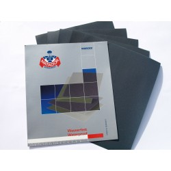 3 Sheets Wet & Dry Sandpaper Fine Grade - Grits included: 2000 3000 5000 Grit